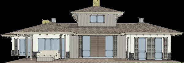 3dcase architectenburo bouwtekening